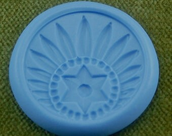 NATIVE PRIDE  antique silicone clay mold   ANT-259