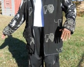 Four Piece Lion of Judah Outfit With Reversible Jacket
