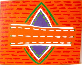 original painting / Route 2222 / 4493 / get there