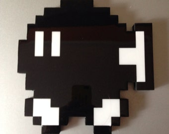 bob omb - super mario wall art