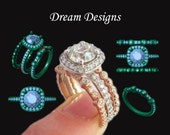 Dream Designs - 3D Printing - Design your own - Custom Personalized Gold Solitaire Diamond Engagement Ring - Engagement Ring - CAD - Rickson