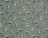Tenugui 'Green Pandas' Cotton Fabric Japanese Gauze w/Free Insured Shipping