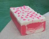 Soap Loaf Cherry  2 Pound Loaf Cold Process Soap