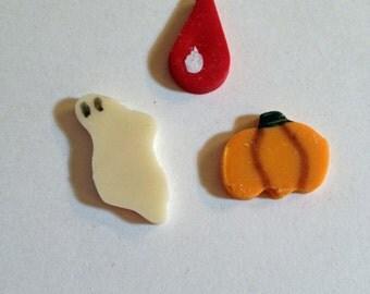 Miniature Halloween Cookies - Set of 3