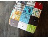 Vintage Patchwork Quilt - Vintage Blanket