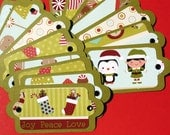 Gingerbread Christmas - Holiday Gift Tags