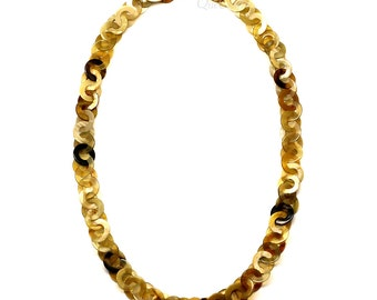 Horn Chain Necklace - Q5315