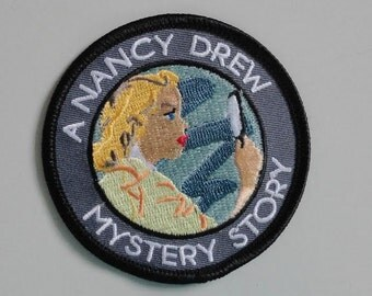 Nancy Drew Mystery Story patch