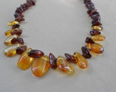 Gorgeous Multi Colored Baltic Amber Necklace