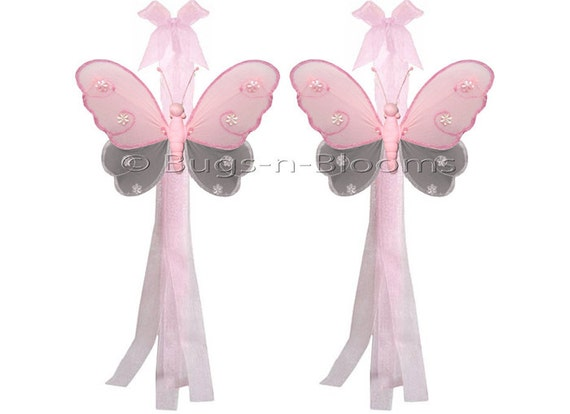Butterfly Tiebacks Decorations Nylon Butterflies By Bugsnblooms