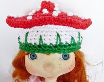 SALE Sprocket Hat Mushroom