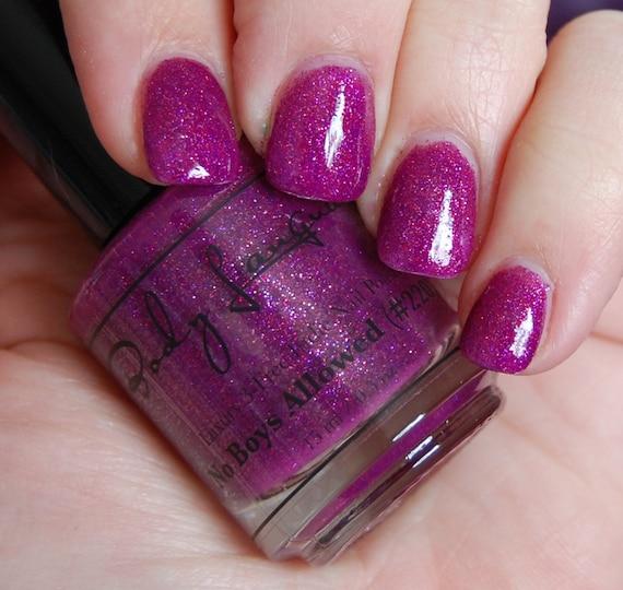 Pink Purple Nail Polish