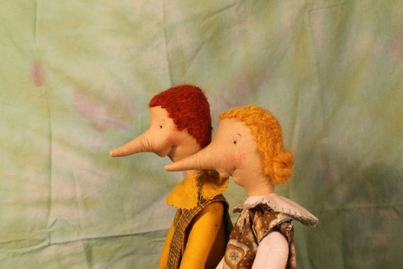 Cotton Elves, with long noses