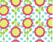 58'' Wide Michael Miller Interlock Knit Mod Blooms-Fabric By The Yard by Michael Miller-More available-BTY