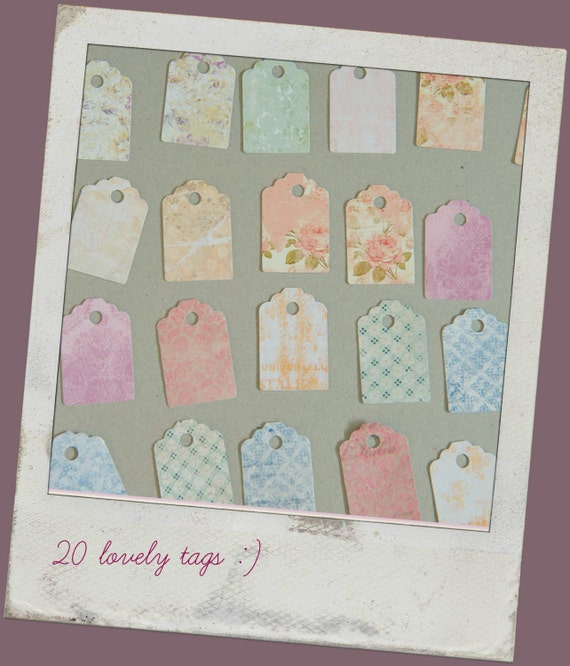 Easter gift tags easter tags spring wedding favor like this item negle Choice Image