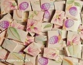 Mosaic Tiles --Berry- Blossom--100 Tiles