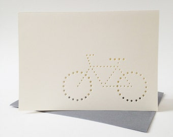 bike card ... set of 3 blank cards