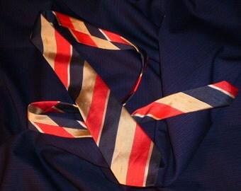Vintage Swiss Pure Silk Necktie