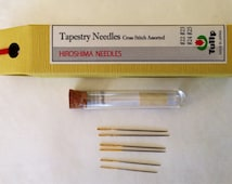 Tulip Tapestry Cross Stitch needles round tip #22 - #25 assorted THN-029e