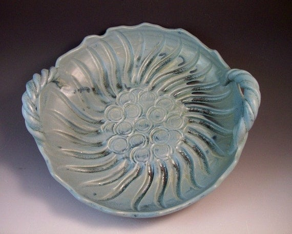Serving Tray/Serving Bowl/Large Sculptural Pottery Bowl