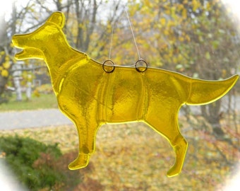 Golden Retriever Suncatcher