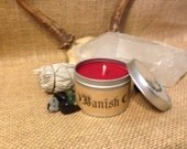 Candle to help aid in banishing anything from your home or person