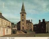 Vintage postcard, unused, The Steeple, Kilbarchan, Scotland, United Kingdom, 1979