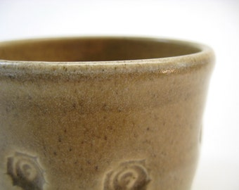 Small Bowl - Ceramic Bowl - Trinket Dish - Jewelry Catch All - Light Brown
