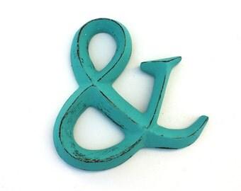 Shabby Cottage Chic Polystone Ampersand Symbol