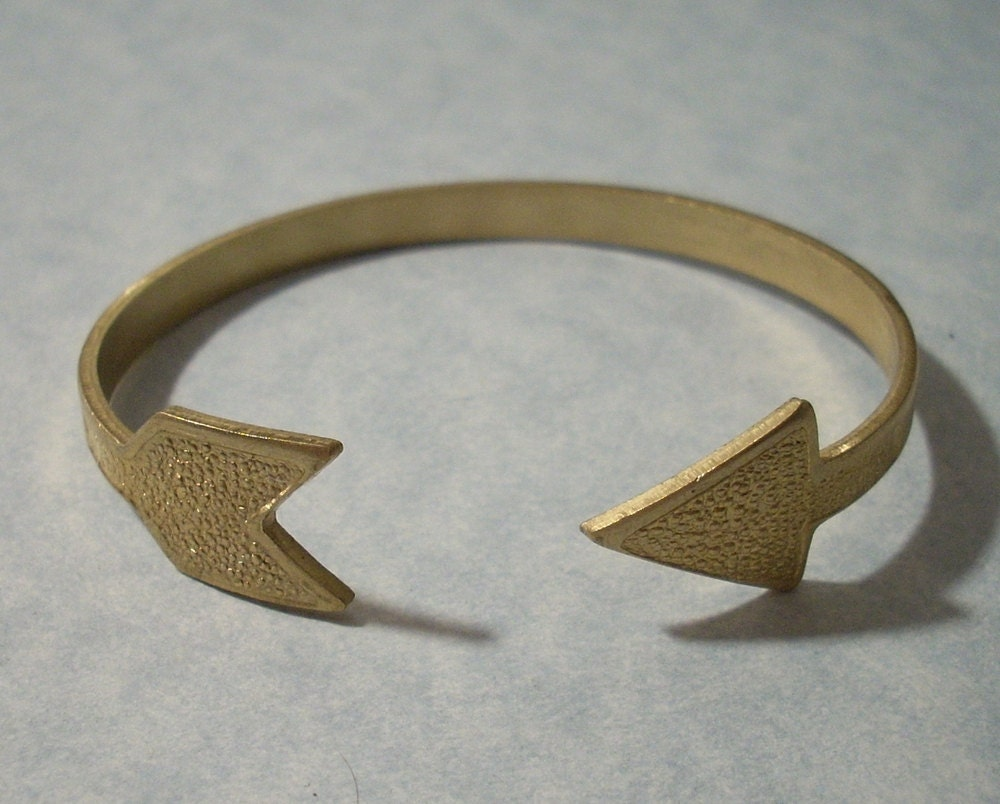 arrow cuff bracelet adjustable brass arrow bracelet brass