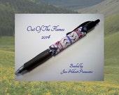 Bead PATTERN Savannah  G2 Pen Wrap Peyote or Brick stitch