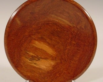 Exotic Chechem Ring or Coin Dish Wood Bowl number 5368