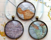 Custom Map Christmas Ornaments