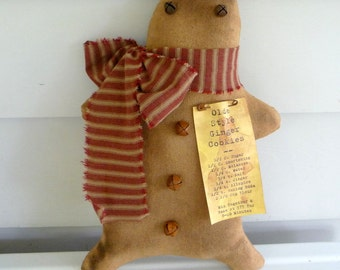 Primitive Gingerbread man
