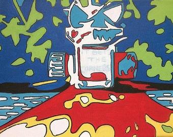 Sprinkler Abstract Pop Art