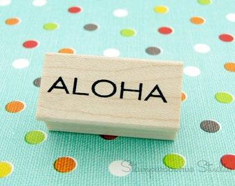 Aloha Rubber Stamp