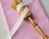 2Ys + Fine Cotton Thread Crochet  Lace - M01(13mm)