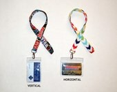 Add an ID Badge Holder (Horizontal or Vertical)