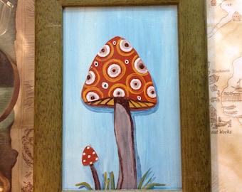 Original Mushroom painting number 1