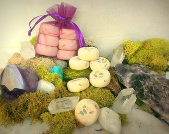 Third-Eye Intuition Divine and Angelic Connection Herbal Offering Stones