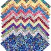 "SQ52 Kaffe Fassett PAPERWEIGHT Entire Collection Precut 5"" Fabric Quilting Cotton Squares Westminster Fibers"