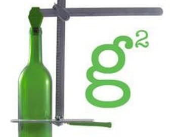 Glass Bottle Cutter, Generation Green G2, cuts wine and beer bottles