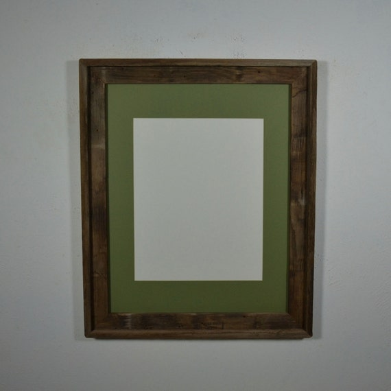 16x20 Frame With Mat For 11x14 Or 11x17 Or 12x18 Or 12x16