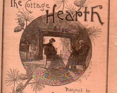 ANTIQUE MAGAZINE, The Cottage Hearth, December 1890, collected by junqueTrunque