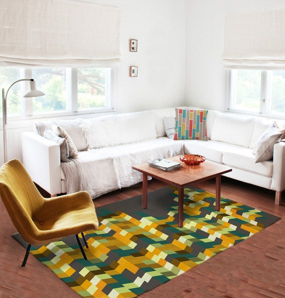 Items Similar To Area Rug Accent Rug Decorative Rug