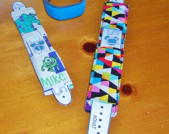 SALE: Magic Bands Comfy Cover Sewing Pattern-make comfortable cloth covers for your Disney Magic Bands