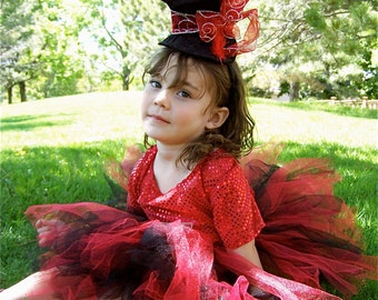 Circus Ringmaster Girl  tutu sz 3 Ready to ship  pageants or birthdays
