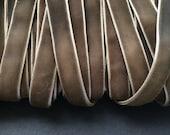 5 Yards of Dark Taupe Velvet Ribbon 9mm 3/8