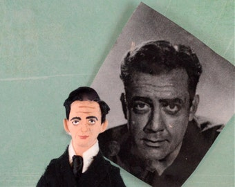 Raymond Burr Doll Miniature Television Star Series Collectible