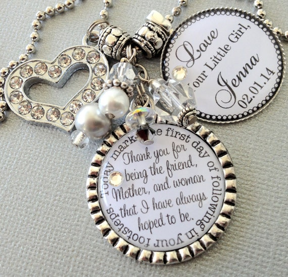 Unique Mother Of The Bride Gifts: Items Similar To MOTHER Of The BRIDE Gift- PERSONALIZED
